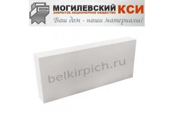 Пеноблоки перегородочные D500 625x100x250 Могилевский КСИ